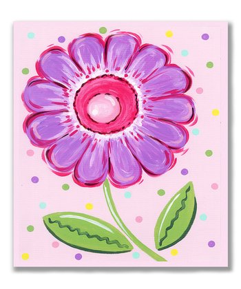 Purple Flower Wall Art