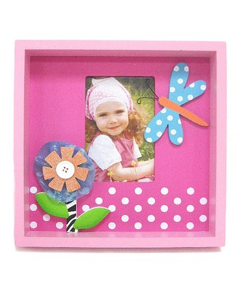 Butterfly & Flower Picture Frame