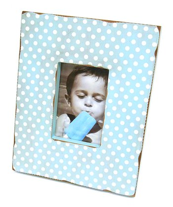 Blue Distressed 4'' x 6'' Picture Frame
