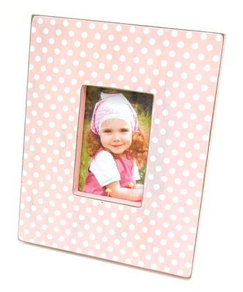 Pink Distressed 4'' x 6'' Picture Frame