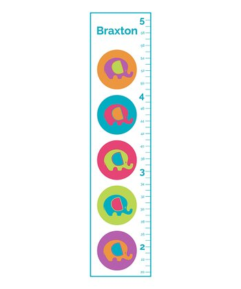 Little Elephants Personalized Growth Chart