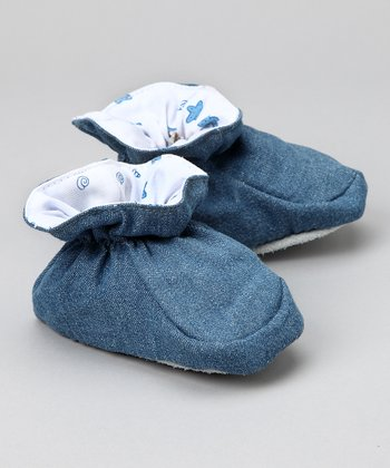 Denim Sea Creature Slipper