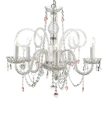 Clear Gallery Crystal Chandelier