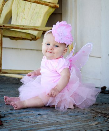 Light Pink La Bella Tutu Set - Infant