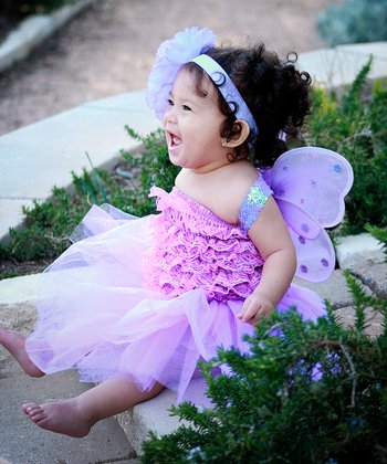 Purple Bella Tutu Set - Infant