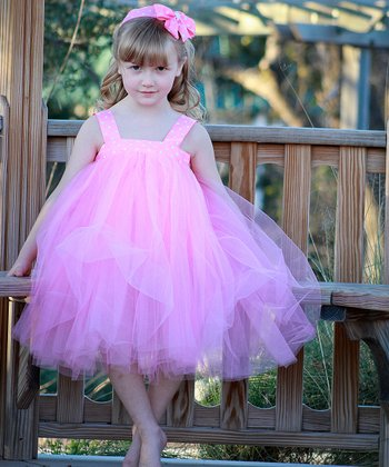 Pink Polka Dot Tutu Dress Set - Infant, Toddler & Girls