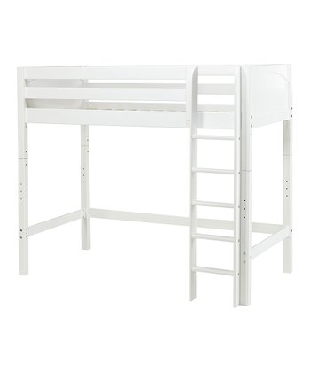 White Loft Bed & Ladder