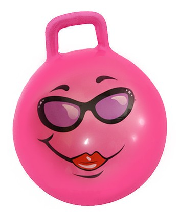 Pink Adult Jumping Ball