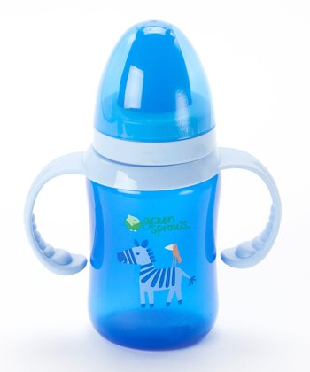 Blue 8-Oz. Trainer Bottle