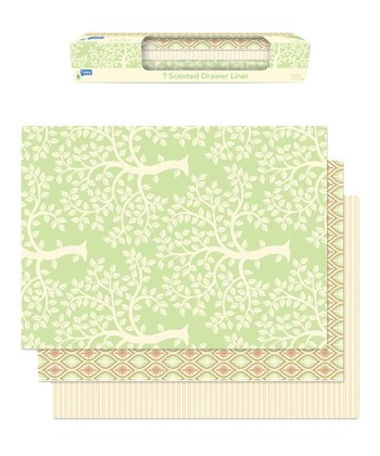Sage Forest Fresh Drawer Liner - Set of Six