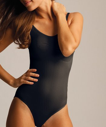 Black Shaper Bodysuit - Women