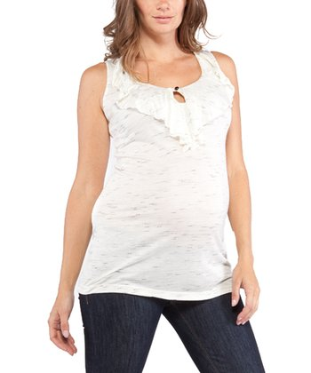 Ivory Brynn Maternity Sleeveless Top