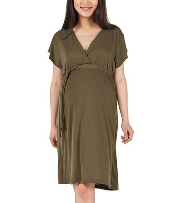 Olive Julie Maternity Dress