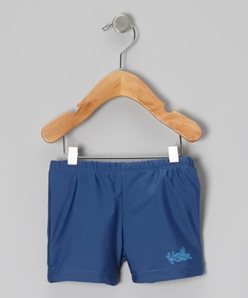 Navy Swim Trunks - Infant