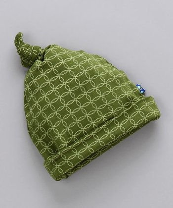 Moss Circles Single-Knot Beanie