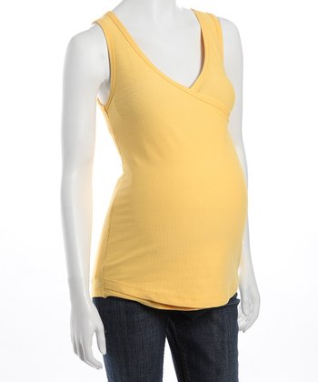 Sun Yellow Lumni Nursing & Maternity Tank