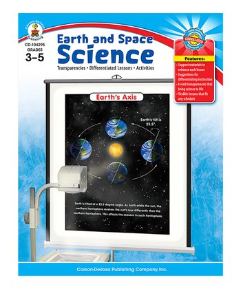 Earth's Axis Earth and Space Science Resource Book Paperback