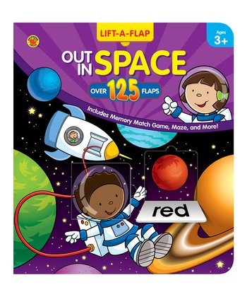 Out in Space Pop-Up Board Book