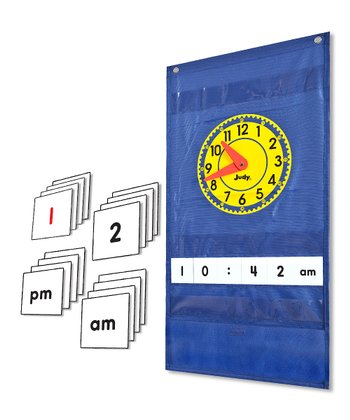 Judy Clock Pocket Chart Set