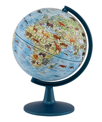 Animals of the World 6'' Globe