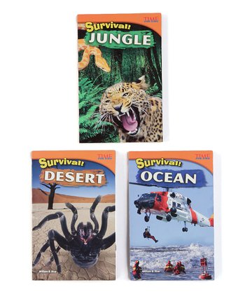 Survival! Book Set