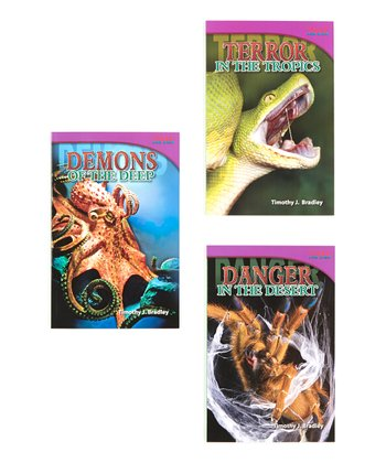 Animal Demons, Danger and Terror! Book Set