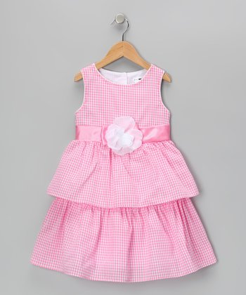 Light Pink Penelope Dress - Toddler & Girls