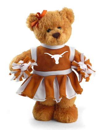 Texas Cheerleader Bear Plush Toy