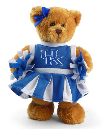 University of Kentucky Cheerleader Bear Plush Toy