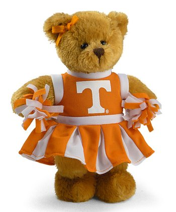 Tennessee Cheerleader Bear Plush Toy