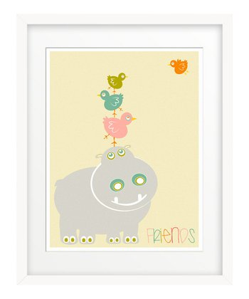 Pink 'Friends' Giclée Print