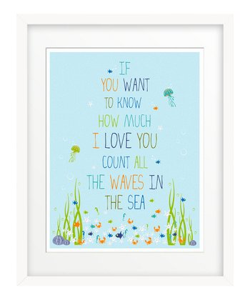 'If You Want to Know' Giclée Print