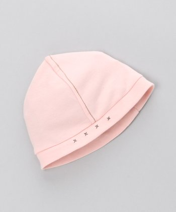 Chinese Pink Bamboo Beanie - Infant
