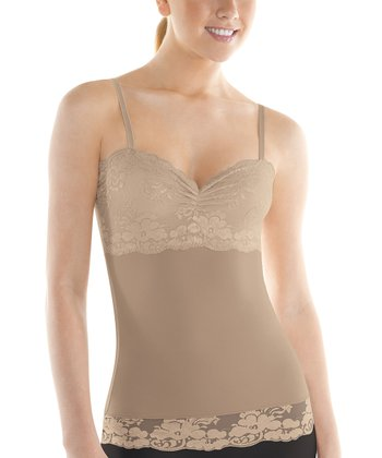 Nude Chic Peek Shaper Camisole - Women & Plus