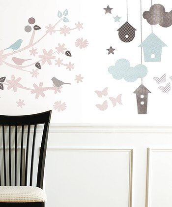 Backyard Garden Wall Decal