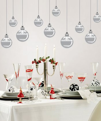 Ornaments Wall Decal Set