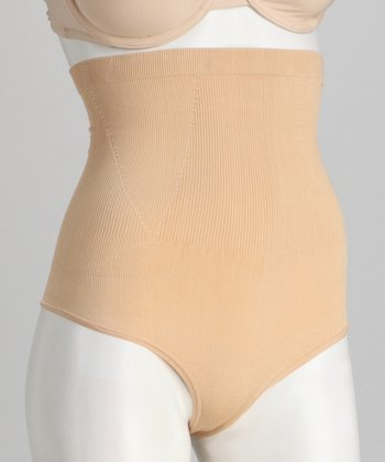 Nude Slimming High-Waisted Thong