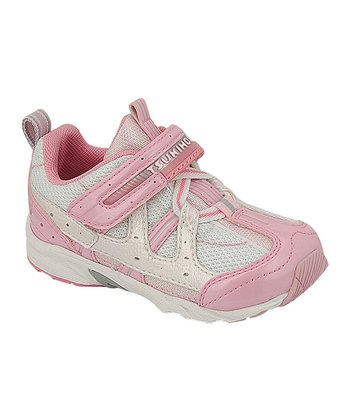 Pink & White Baby Speed Sneaker
