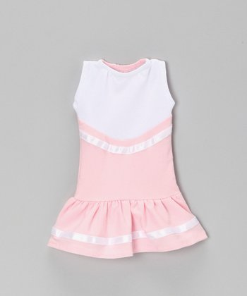 Light Pink Cheerleader Doll Outfit