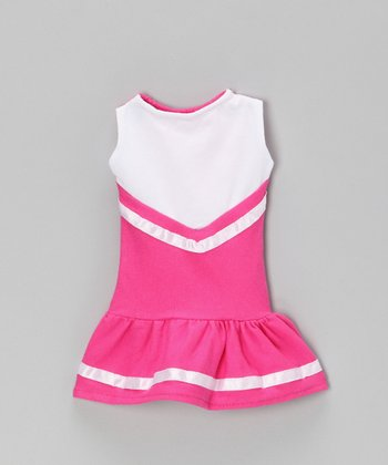 Hot Pink Cheerleader Doll Outfit