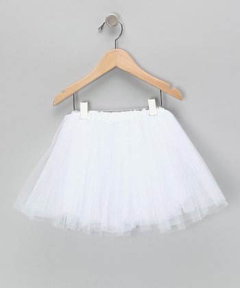White Tutu - Toddler & Girls