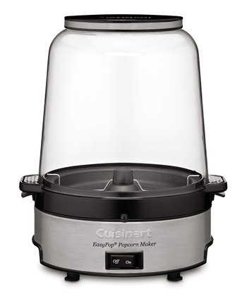 Black EasyPop Popcorn Maker