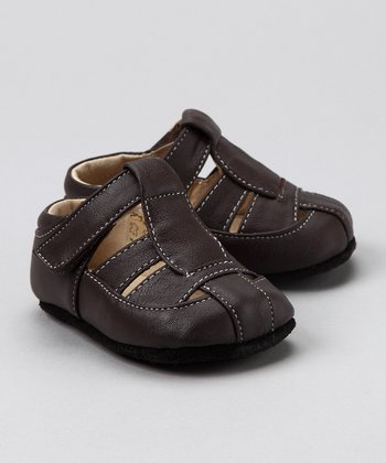 Brown Smaller Patrick  Closed-Toe Sandal