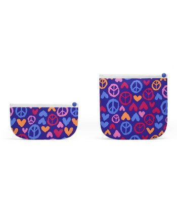 Indigo Summer of Love Sandwich & Snack Bag Set