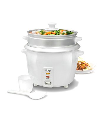 16-Cup Rice Cooker & Steam Tray Set