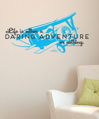 Blue Jay 'Daring Adventure' Wall Decal
