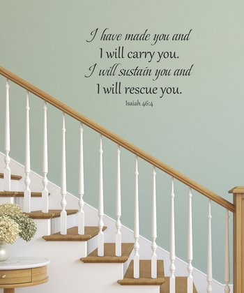 'I Have Made You' Wall Decal