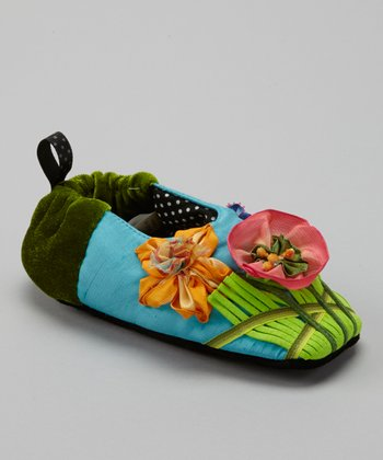 Blue Daffodil Hill Slipper - Kids