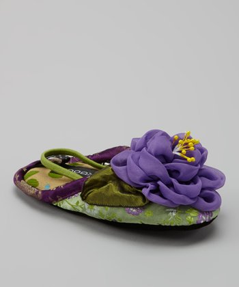 Green Majestic Slipper - Kids