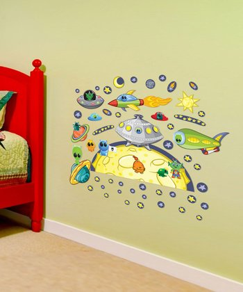 Space Accessory Interactive Wall Decal Set